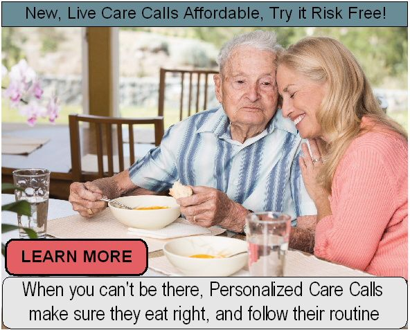 man using Care Calls