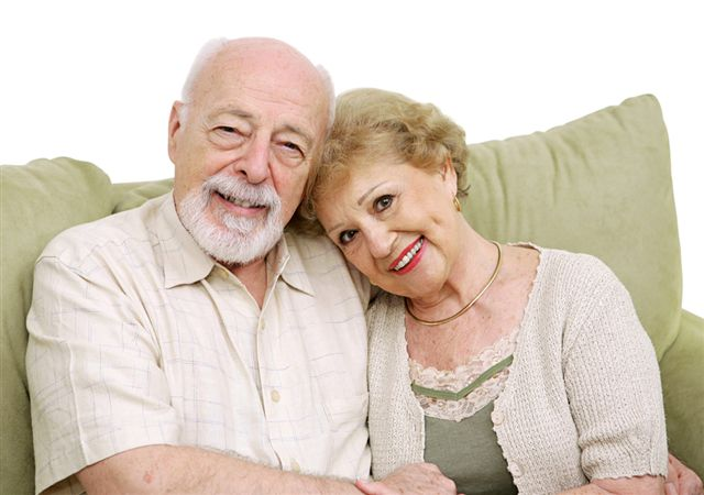 Senior Safety and Fall Prevention a couple at home